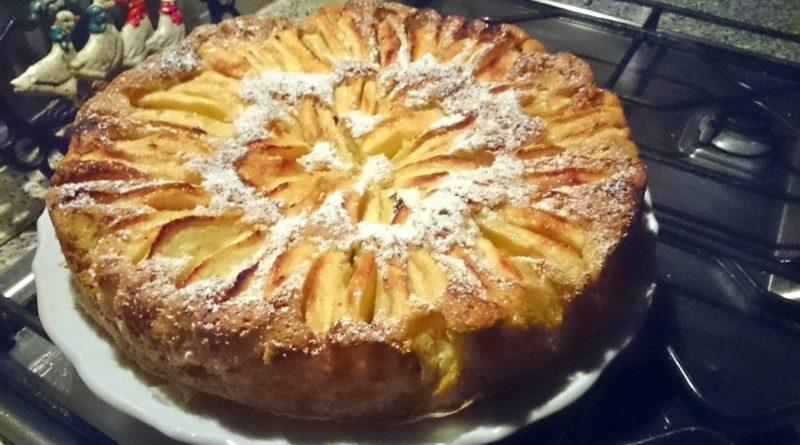 Torta di mele portoghese